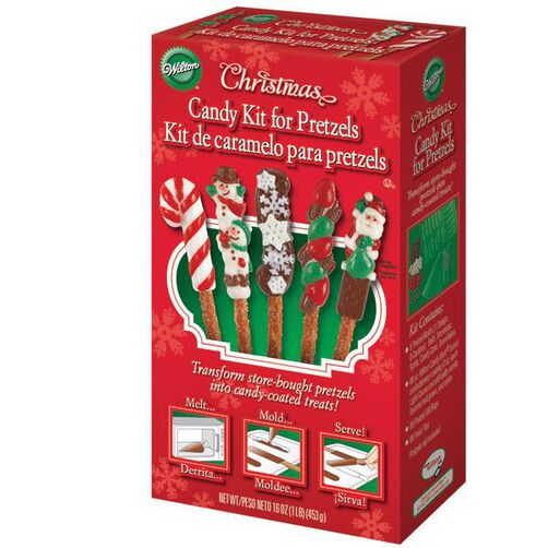 Christmas Candy Kit for Pretzels
