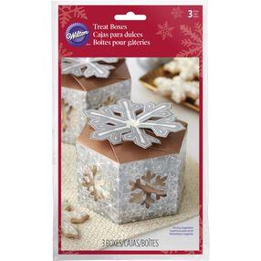 Snowflake Mini Cookie Boxes
