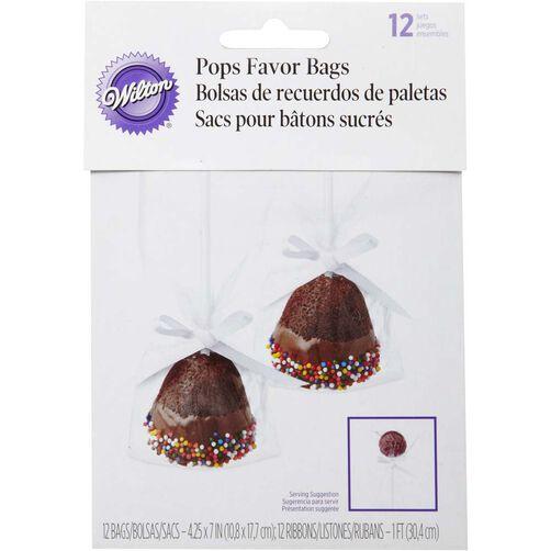 Cake Pops Favor Bags