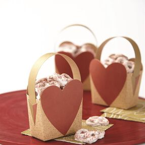 Wilton Heart Shaped Treat Bags, 4-Count
