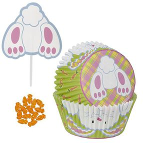 Wilton Bunny Tail Cupcake Decorating Kit