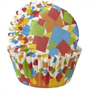 Wilton Geometric Confetti Mini Baking Cups, 100-Ct.