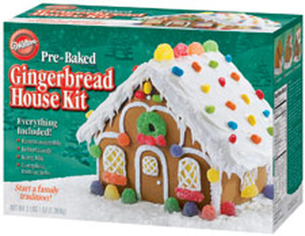 2-Pack of Gingerbread-Men Decorating Kits with 6 Giant ...