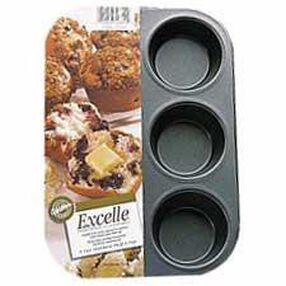 Excelle Premium Non-Stick 6 Cup Standard Muffin Pan
