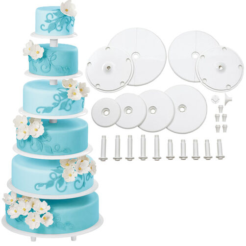 Cake Decorating Classes Zimbabwe : Towering Tiers Cake Stand Wilton