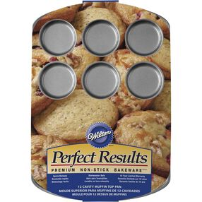 Wilton Bakeware - Perfect Results Muffin Tops Pan