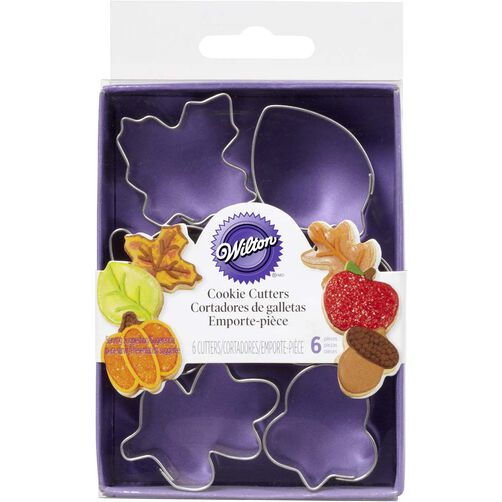 Wilton Harvest Mini Metal Cookie Cutters
