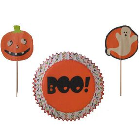 Ghost & Pumpkin Cupcake Combo Pack