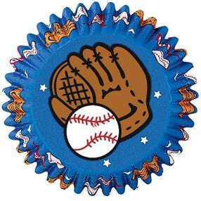 Baseball Baking Cups