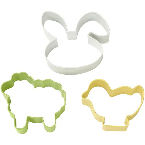 3 Piece Easter Cookie Cutter Set
