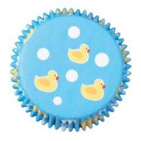 Ducky Mini Cupcake Liners
