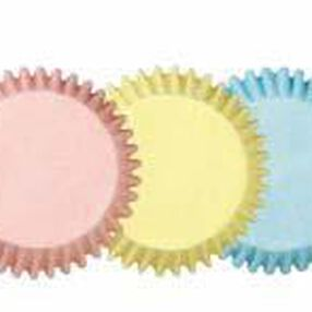 Assorted Pastel Baking Cups