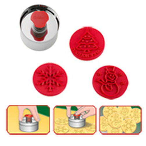 Christmas Push 'N Print Cutter Set