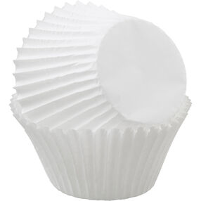 Jumbo White Cupcake Liners