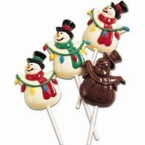 Snowman Lollipop Mold