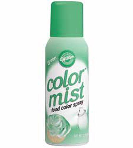 Green Color Mist Food Color Spray