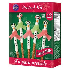 Wilton Christmas Snowman Pretzel Kit