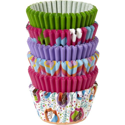 Pinks & More Mini Cupcake Liners