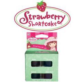 Strawberry Shortcake Icing Color Set