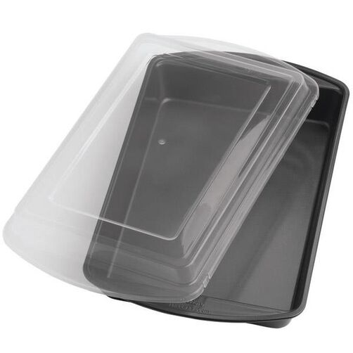 Perfect Results 13 x 9 in. Oblong Cake Pan with Cover