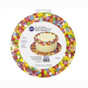 Jelly Bean Cake Boards, 3-Ct.
