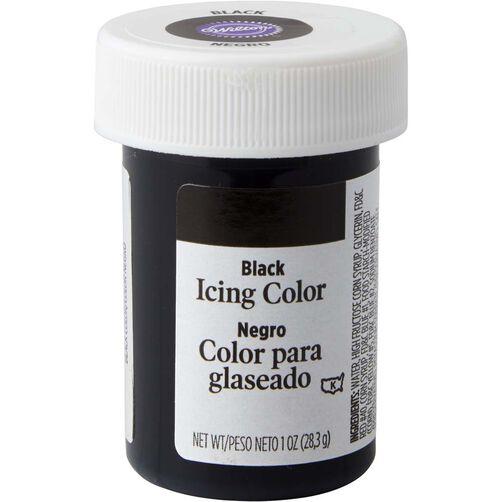Black Gel Food Coloring Icing Color