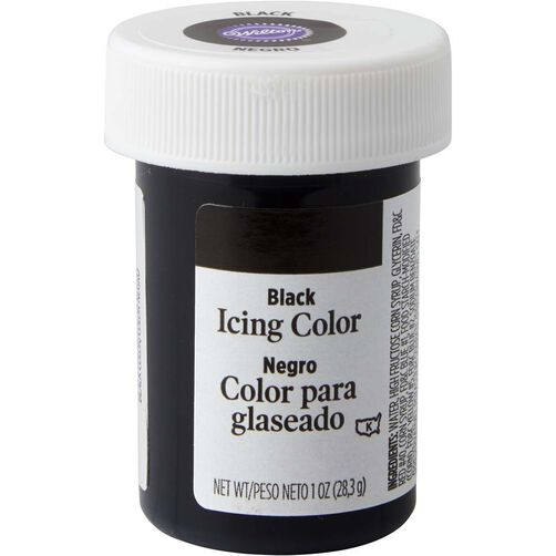 Black Gel Food Coloring Icing Color | Wilton