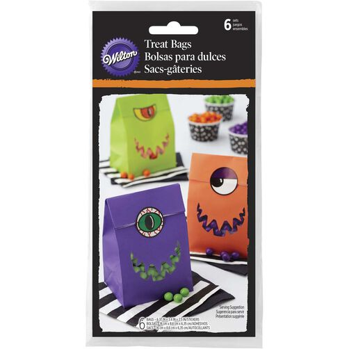 Monster Halloween Treat Bags