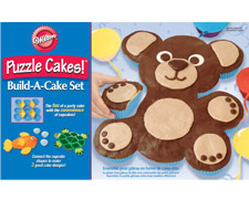 Animal Puzzle Cakes! Silicone Build-A-Cake Set