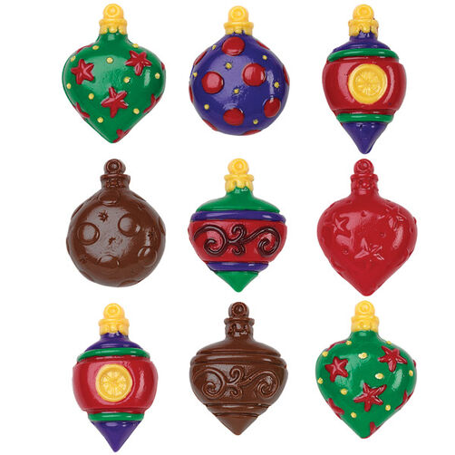 Holiday Ornament Candy Mold