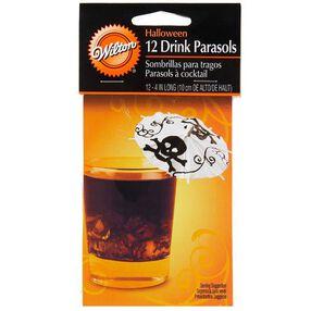 Halloween Drink Parasols