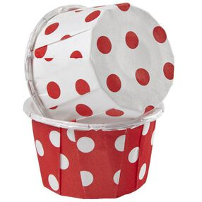 Dots Red and White Mini Nut Cup