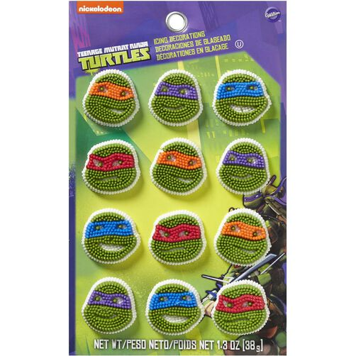 Wilton Teenage Mutant Ninja Turtles Candy Decorations