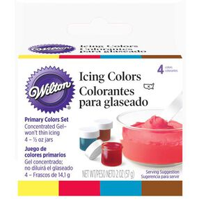 Primary 4 - Icing Colors Set