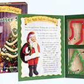 Night Before Christmas Grippy  Cutter Book Set