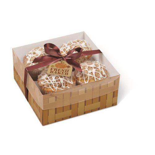 Wilton 4-Cavity Autumn Fresh Baked Treat Boxes