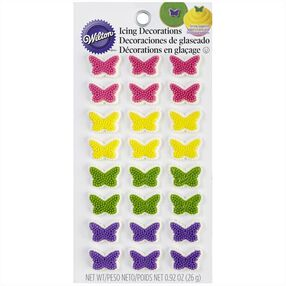 Wilton Butterfly Icing Decorations