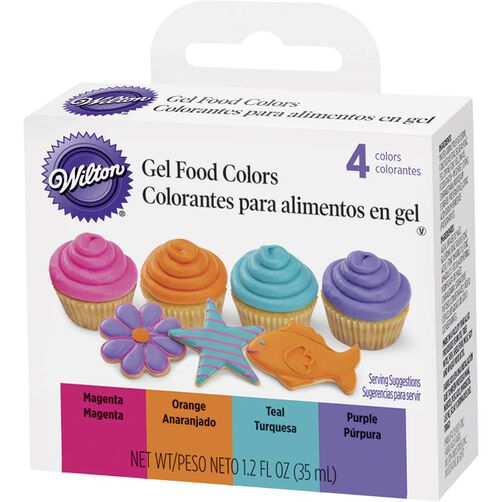 Bright Gel Food Color Set | Wilton