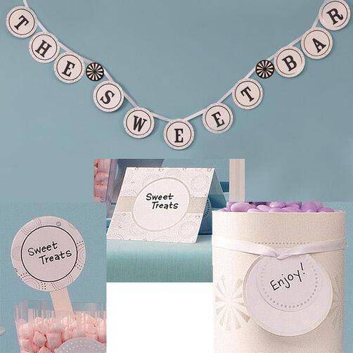 Candy Buffet Décor Kit