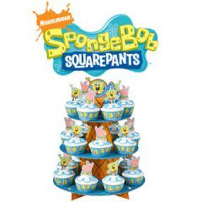 SpongeBob SquarePants Cupscapes Cupcake Stand Kit