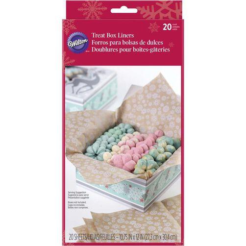 Wilton Christmas Treat Box Liners