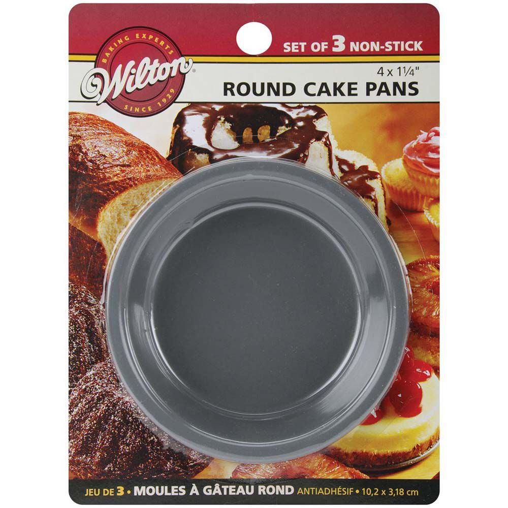 mini round cake pan set wilton. Black Bedroom Furniture Sets. Home Design Ideas