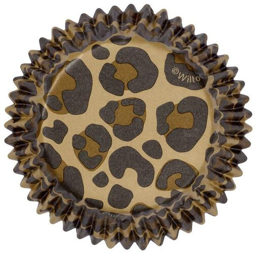 Leopard Print Cupcake Liners