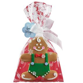 Gingerbread Cookie Gift Bag