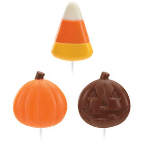 Candy Corn and Pumpkin Candy Mold