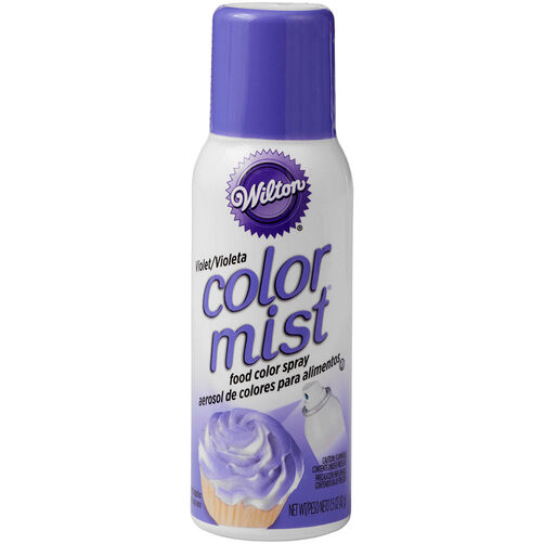 Color Mist Purple Food Coloring Spray