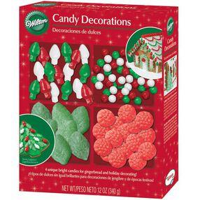 Gingerbread House Candy Assortment