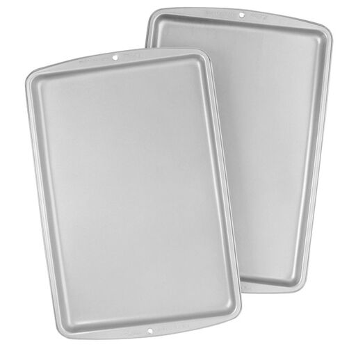 Recipe Right® 2 Piece Medium and Large Cookie Pan Set