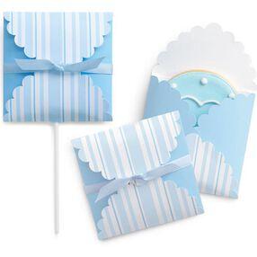 Blue Stripes Cookie Envelope Kits