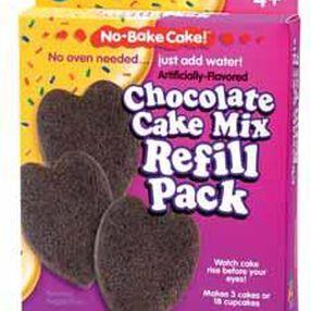 No-Bake Cake! Chocolate Mix Refill